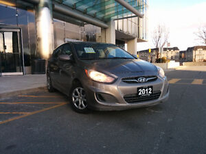 2012 Hyundai Accent, Automatic, very LOW KM! certified !
