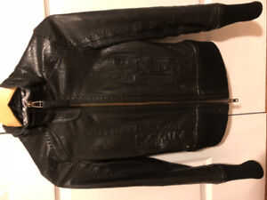 Woman's mackage leather jacket