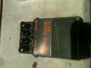 Metal zone effects pedal