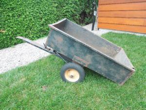 Remorque pour tracteur de jardin Troy Bilt