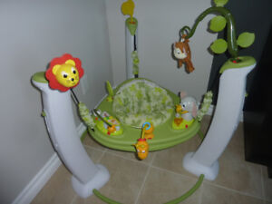 Sauteur Evenflo (Exersaucer Jump & Learn - Safari Friends)