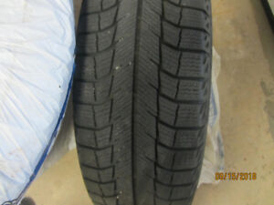 Michelin Ice Snow Tires with Rims