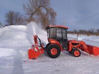 Snow removal in Portage la Prairie