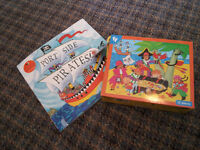 Book and Puzzles for Sale