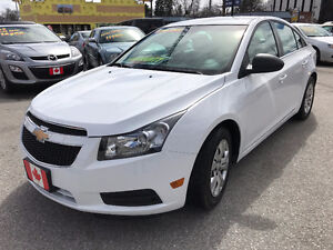 2012 Chevrolet Cruze LS SEDAN...LOW KILOMETERS...MINT COND.