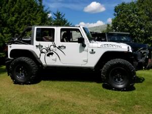 Jeep rubicon 2012
