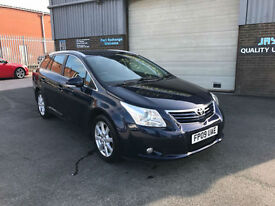 2009 TOYOTA AVENSIS 2.0D-4D TR TURBO DIESEL ESTATE,108000 MILES WITH SERVICE