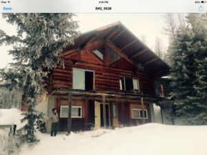 Farm and a Log home, 400ac. in Quesnel - Williams Lake area.