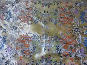 Chinese Heavy Silk - Rug Style Table Cloth - 100 Children Design Kitchener / Waterloo Kitchener Area image 6