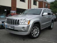 2007 07-Reg Jeep Grand Cherokee 3.0CRD V6 auto Overland,GEN 84,000 MILES!!!!