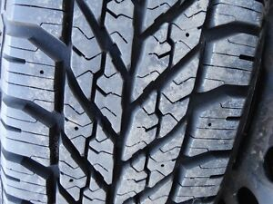 4 WINTER TIRE WITH RIMS 185/70/R14 GOODYEAR