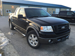 2007 Ford F-150 FX4 Pickup Truck 4x4 Leather,Sunroof,Mint,Safety
