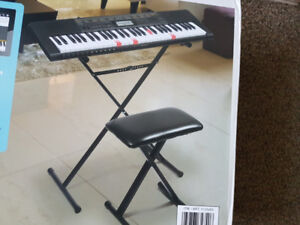 New Casio LK-265 Electric Piano With Stand and Bench