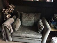 Corner sofa and cuddle chair BARGAIN!!!