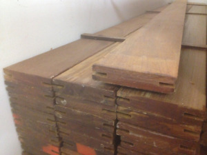 IPE DECKING 1x4x6 Grooved