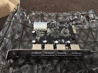 USB3 PCIE internal PC card