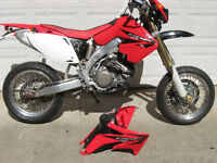 Supermoto CRF 450ccR Street Legal