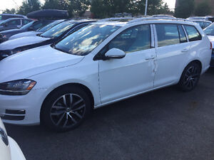 2015 Volkswagen Golf Highline auto with tech Wagon
