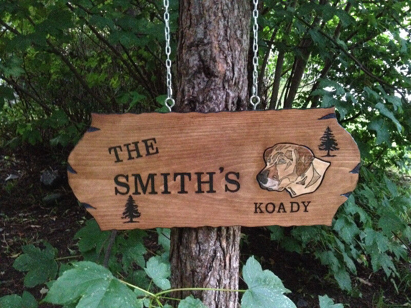 Man Cave Kijiji : Signs wood routed hand carved custom hobbies crafts
