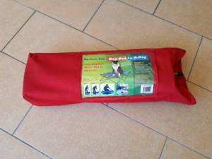 Dog camping bed