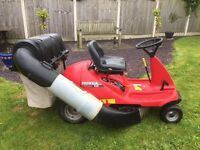 Honda 1011 ride on lawnmower