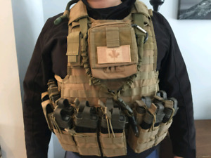 Plate Carrier/Tactical Vest (Airsoft/Paintball)