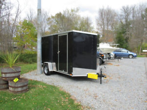 6X12 CARGO TRAILER WITH RAMP