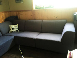 EQ3 sectional couch / Sectional sofa for sale North Shore Greater Vancouver Area image 1