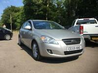 KIA CEED 1.6 LS 5dr SILVER only 44,707miles F.S.H. SOLD