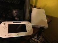 Wii U Console with a 500 GB external Hard Drive