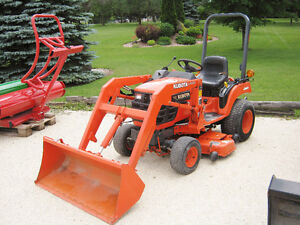Kubota BX1500 Loader Tractor with Mower