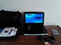 DVD player  portable 9'' (Philips)