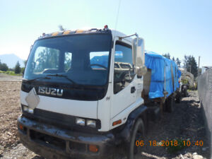 2000 Isuzu T 7500 20 foot steel Flat Must sell