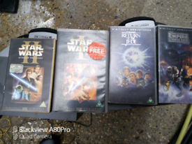 Star wars vhs collectable