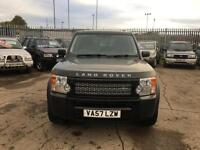 Land Rover Discovery 3 2.7 TDV6 AUTO COMMERCIAL 2008/57 FSH