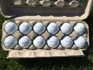 TITLEIST AVX GOLF BALLS - USED IN EXCELLENT CONDITION