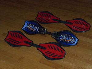3 planches a roulettes waves board riptick IDEAL POUR NOËL