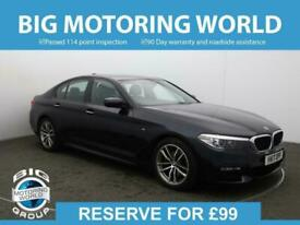 image for 2017 BMW 5 Series 520D M SPORT Auto Saloon Diesel Automatic