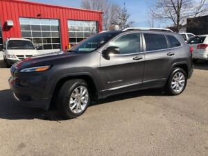 2015 Jeep Cherokee Limited  JUST ARRIVED | FULLY LOADED | HEATED