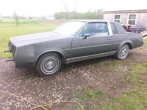 Part Out. 1986 Buick Regal