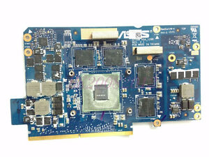 ASUS G75VW Laptop Video Graphics Card 2GB GDDR5