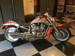 2007 v rod screamin eagle special edition