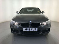 2015 BMW 320D M SPORT DIESEL SAT NAV LEATHER INTERIOR 1 OWNER SERVICE HISTORY