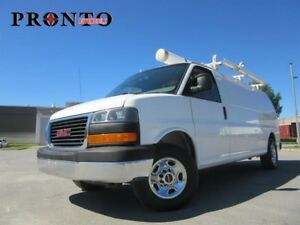 2011 GMC Savana 2500 Allongé extended ** Full rack **