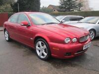 2009 Jaguar X Type 2.0d SE Met Red, Leather Sat Nav