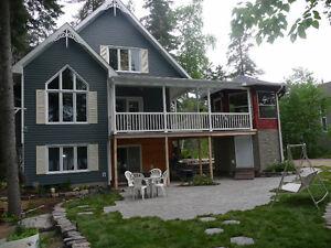 Chalet/Maison à louer Lac Kénogami Saguenay Lac St-Jean