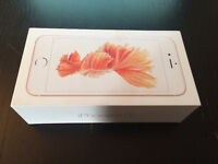 phone 6S 64GB,BRAND NEW,ROGERS/CHATTER,ROSE GOLD