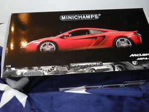 Diecast Minichamps Met Orange McLaren 1/18