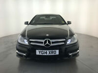 2014 MERCEDES C250 AMG SPORT CDI BLUEEF-CY AUTO COUPE SERVICE HISTORY FINANCE PX