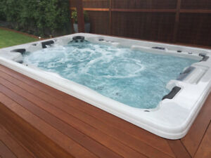 Get Fit or Relax in our 10 Person Bimini Spa on Sale Now